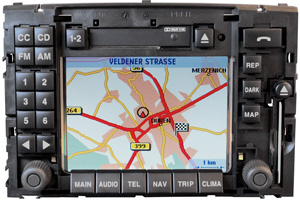 Reparatur Navi Display Ausfall