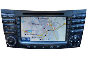 Mercedes ML - Reparatur Comand Navigationssystem