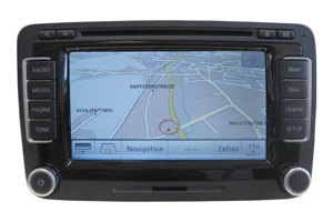 VW Golf - Navigationsgerät RNS 510 mit Touchscreen Display Reparatur